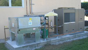 chiller economizer system