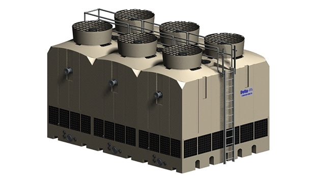 Induced-Draft, Counterflow Tower from Delta Cooling Towers Inc.