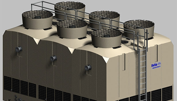 Delta cooling tower tm3cell slide