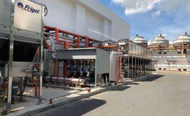 frigel PET Preform Plant Retrofit Includes Compact Mold-Cooling Units