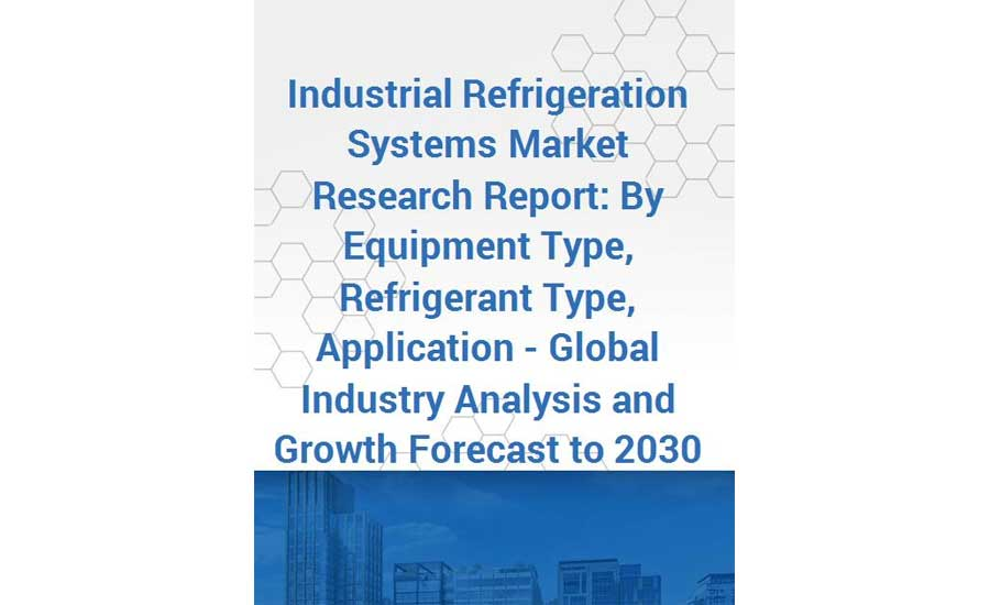Market research industrial refrigeration report