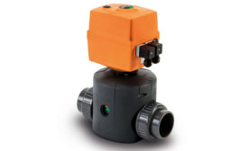 Electric Diaphragm Valve Offers Fast Cycling