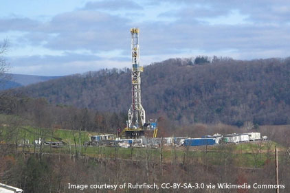 PC-marcellus shale Hydrofracture of a shale gas well
