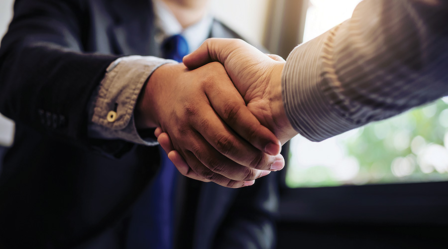 handshake merger acquisition