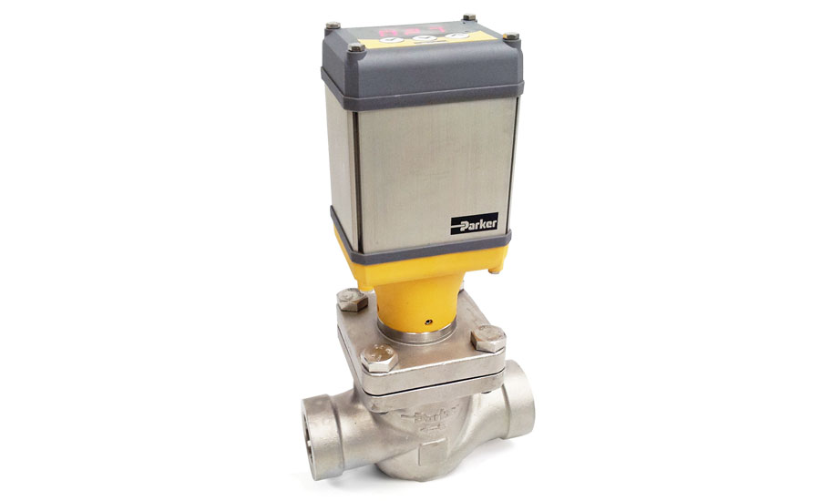 Increase refrigeration system efficiency with the new Parker Electronic Valve (PEV) from Parker's Refrigerating Specialties Division