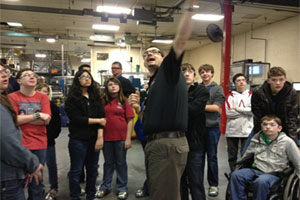 Industrial Refrigeration Facility Partners with Local High School's STEM Program