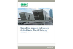 Guide Explains How to Use Dataloggers to Improve Chilled Water Plant Efficiency