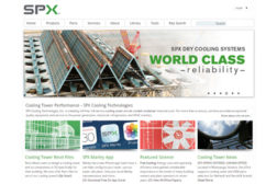 Cooling Tower Maker Launches New Website