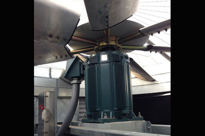 Cooling Tower Has Direct Drive Variable Speed Fan System