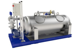 Sonitec Vortisand Submicron Filtration for Industrial Water Polishing