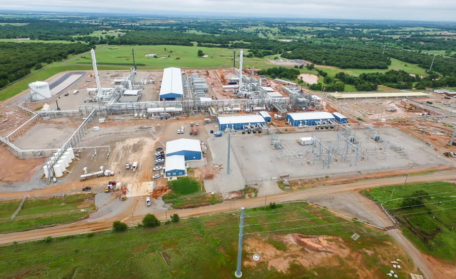 Cryogenic Natural Gas Processing Plant Opens