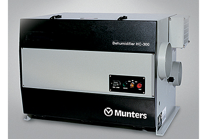 Munters desiccant dehumidification