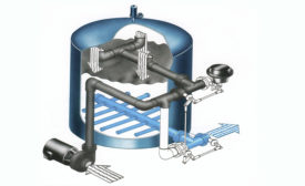 industrial cooling water filtration Calculate Gallons of Water in Tower Basin (Sump)