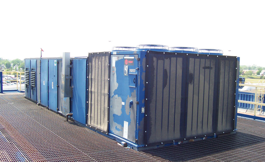 Industrial Cooling Tower Downtime Filters Catch Airborne Debris Intake Filtration Air Solutions Company