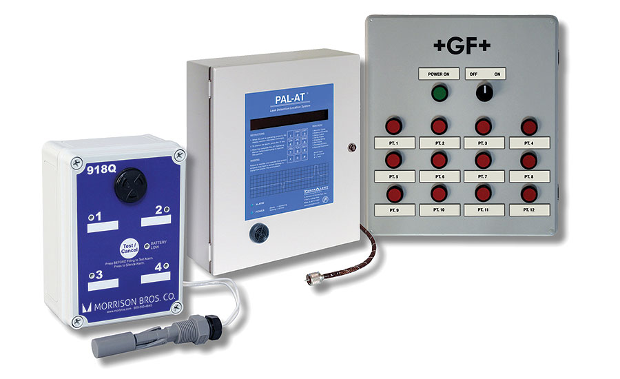 GF Piping Systems leak detection systems