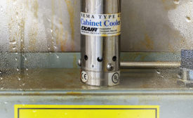 Stainless Steel Cabinet Cooler Keeps Electrical Enclosures Cool