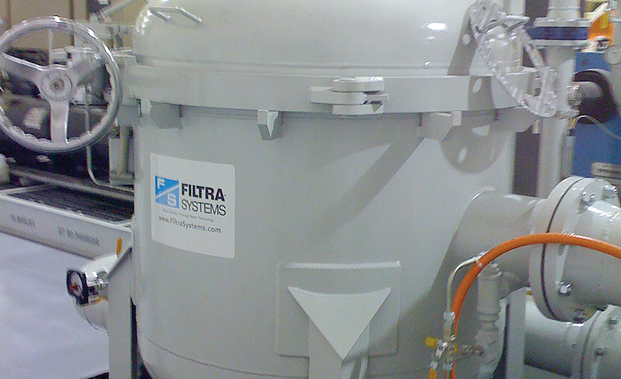 Filtra bag filter housing industrial cooling water filtration treatment
