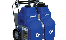 Tablet Based System for Coil Cleaning