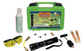 Leak-Detection Kit Ideal for Small-to-Medium Size Refrigeration Systems