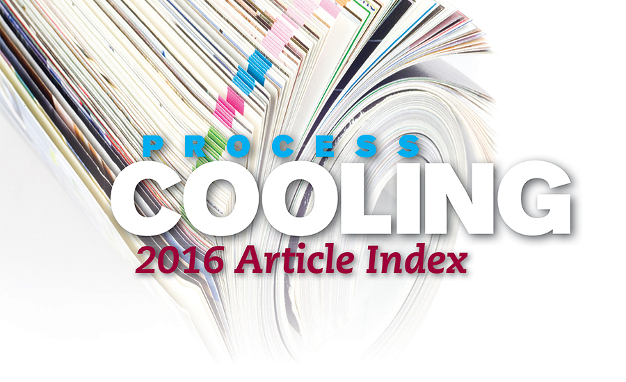Process Cooling top ten articles 2016