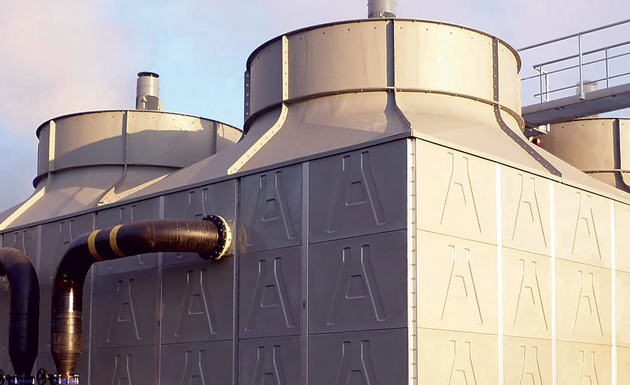 Fiberglass Counterflow Cooling Tower