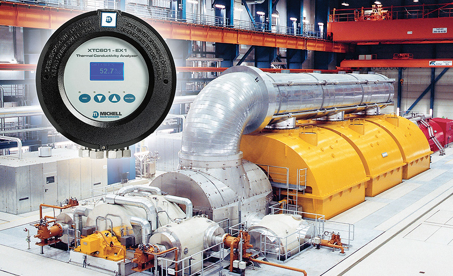 Gas Analyzer for Hydrogen-Cooled Generators