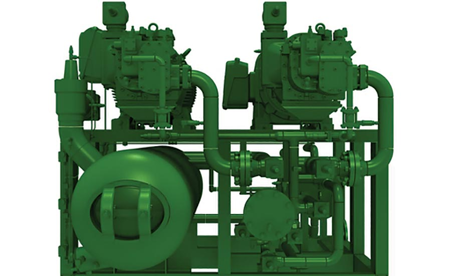 Ammonia Compressor Pack from Bitzer US Inc.