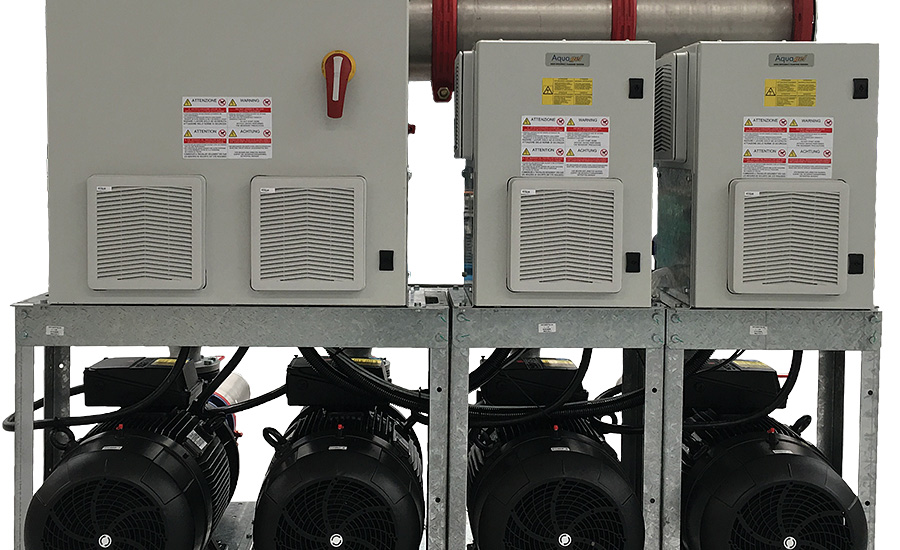 Central Cooling System, Process Pump Sets  with Variable-Frequency Drives