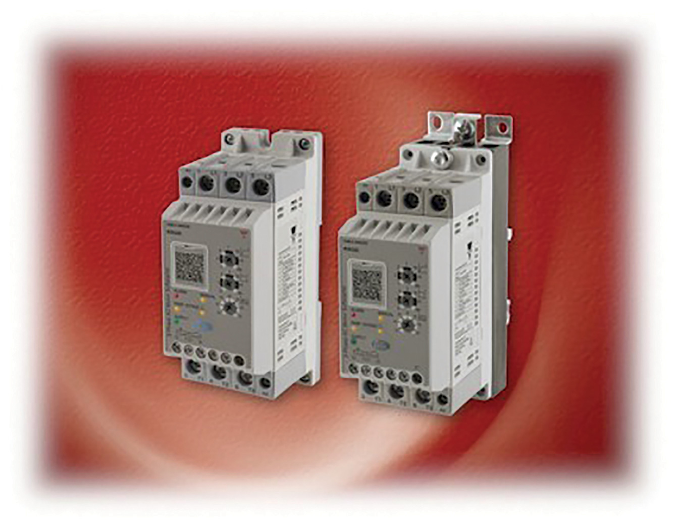 Self-Learning 40-hp Soft Starters with Integrated Overload Protection