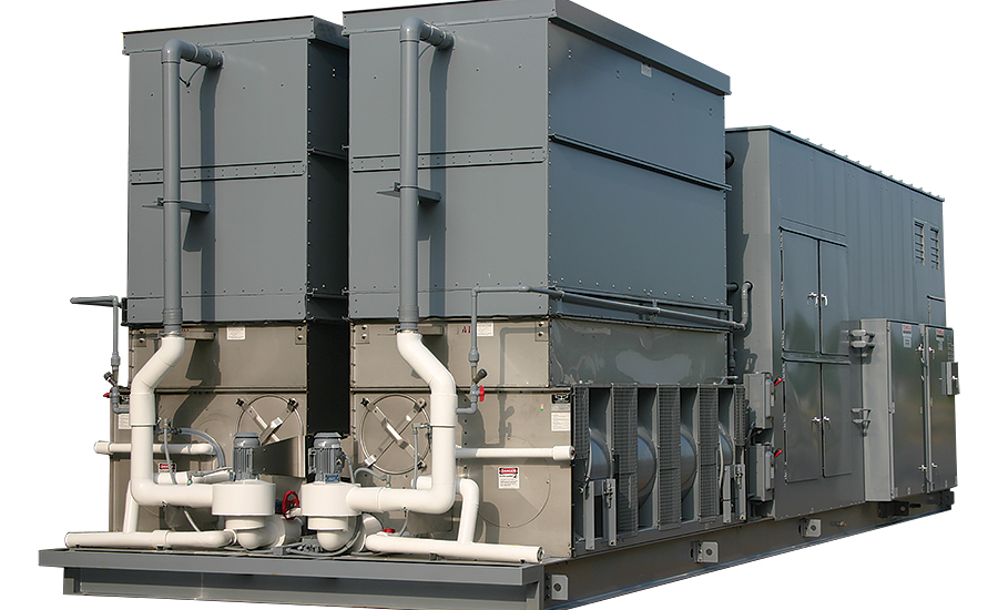 Evaporatively Cooled Chillers