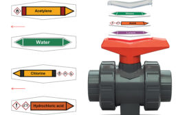 Ball Valve Labels Improve Safety, Efficiency