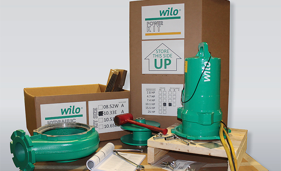 Pump kits by Wilo USA.