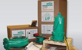 Pump kits by Wilo USA.