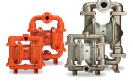 Air-Operated Double-Diaphragm Pumps with Air-Distribution System
