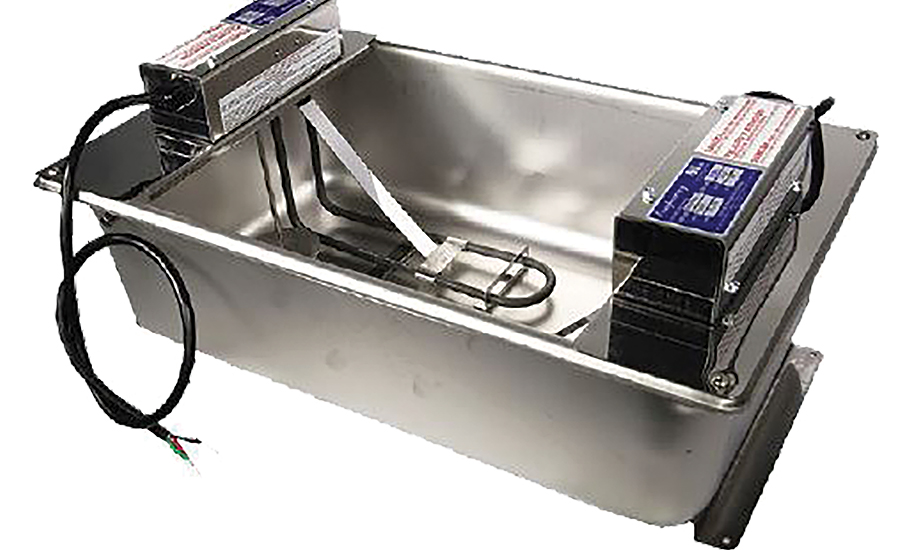 Evaporator pans from BriskHeat.