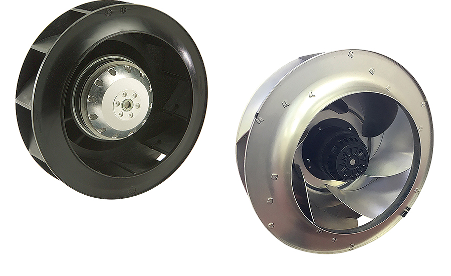 AC and DC motorized impellers from Orion Fans.