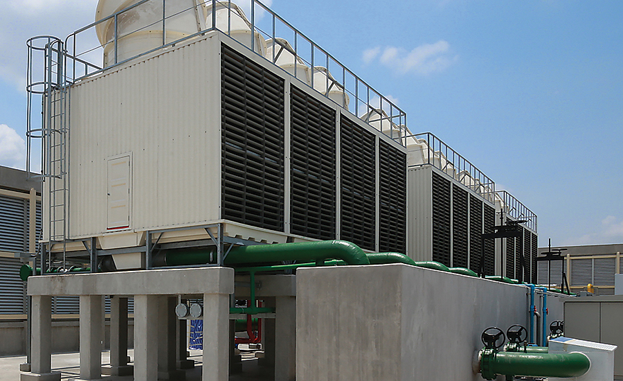cooling tower water