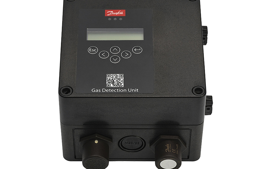 Fixed gas detectors from Danfoss.