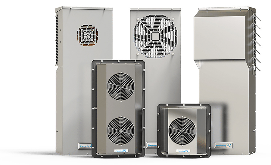 Air-to-air heat exchangers from Pfannenberg Inc.