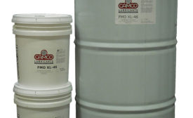 Food-grade compressor oil from Camco Lubricants.