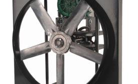 Belt-driven panel fan from Continental Fan Manufacturing Inc.