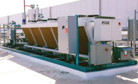 Low Charge Central System from Frick Industrial Refrigeration.