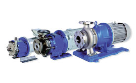 Stainless steel pumps with machined rear casings from Iwaki America.