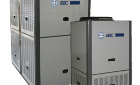 Packaged Chillers Have Integrated Pumps and Tanks