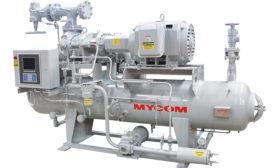 Screw compressor package from Mayekawa USA Inc.