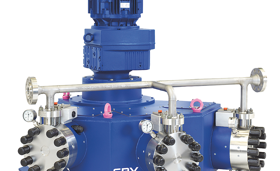 Process pumps by SPX Flow, Bran+Luebbe.