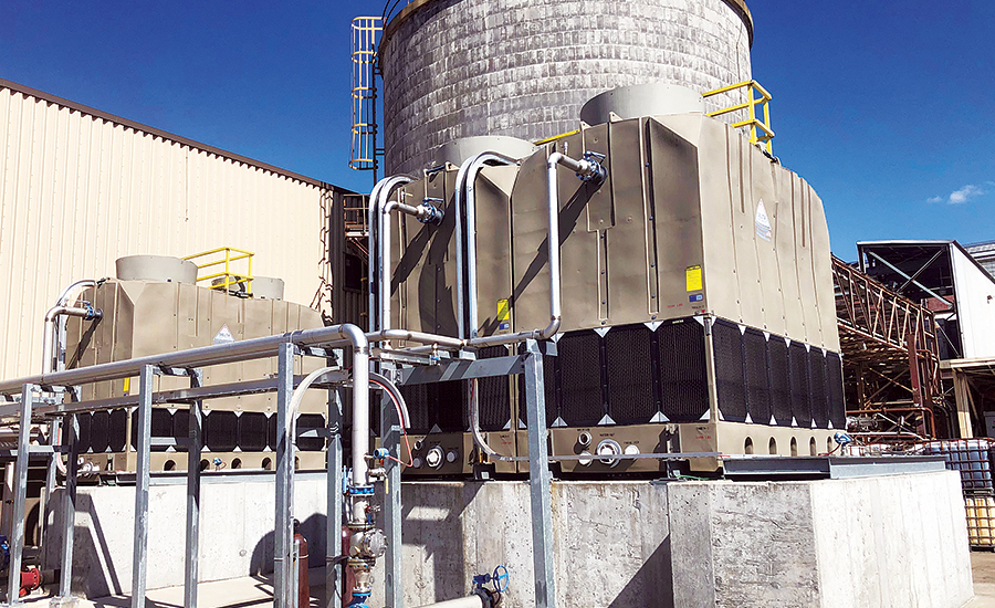 HDPE cooling towers