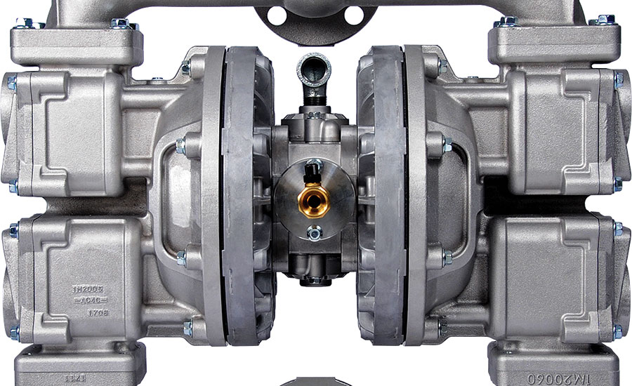 Double diaphragm pump from Iwaki Air.