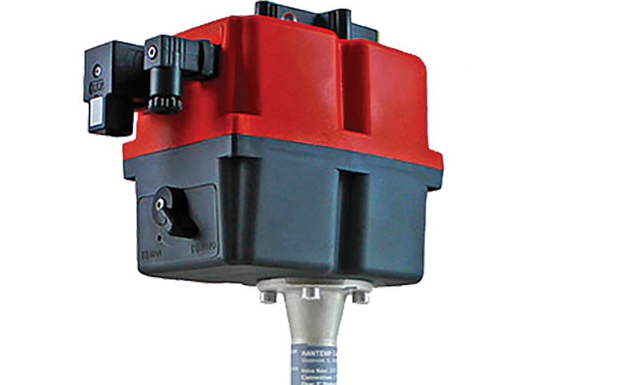 Motor-controlled ball valves from Hantemp Controls.
