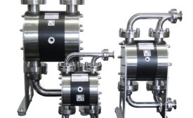 Air-operated double diaphragm pumps from Almatec.